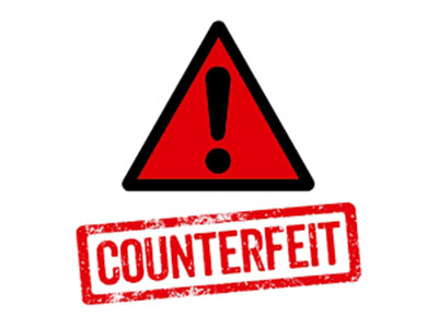 Counterfeits Increasing